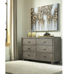 Ashley - Arnett B552 Dresser - Gray (B552-31)