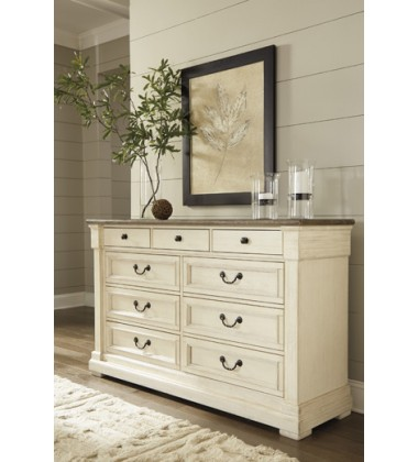Ashley - Bolanburg B647 Dresser - Antique White (B647-131)