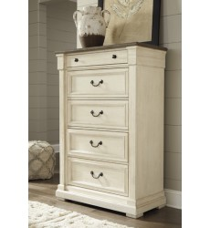 Ashley - Bolanburg B647 Five Drawer Chest - Antique White (B647-146)