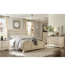 Ashley - Bolanburg B647 Queen/King/Cal King Panel Bed - Antique White