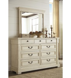 Ashley - Bolanburg B647 Bedroom Mirror - Antique White (B647-36)