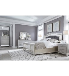 Ashley - Olivet B560 Twin/Full/Queen/King Bed - Silver