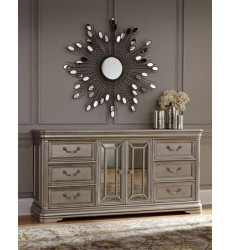 Ashley - Birlanny B720 Dresser - Silver (B720-31)