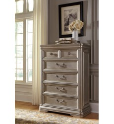 Ashley - Birlanny B720 Five Drawer Chest - Silver (B720-46)