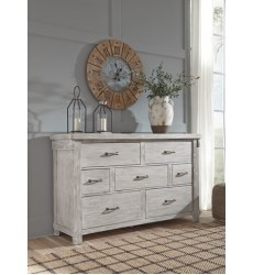 Ashley - Brashland B740 Dresser - White (B740-31)