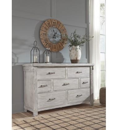 Ashley - Brashland B740 Dresser - White (B740-31)