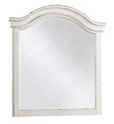 Ashley - Realyn B743 Youth Mirror - Chipped White (B743-26)