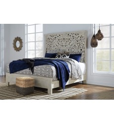 Ashley - Bantori B805 King/Cal King Bed - White