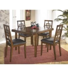 Ashley - Cimeran D295 Rectangular Dining Room Table Set (5/CN) - Medium Brown (D295-225)