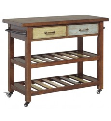 Ashley - Marlijo D300 Kitchen Cart - Multi (D300-066)