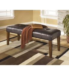 Ashley - Lacey D328 Large Upholstery Dining Room Bench - Medium Brown (D328-00)