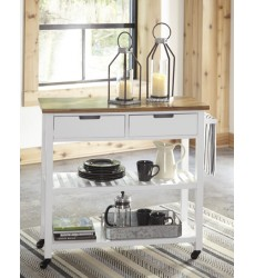 Ashley - Withurst D350 Kitchen Cart - Multi (D350-166)