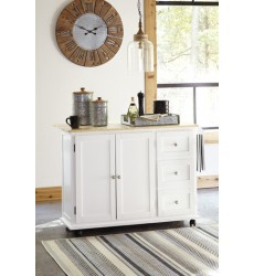 Ashley - Withurst D350 Kitchen Cart - Multi (D350-486)