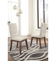 Ashley - Centiar D372 Dining Upholstery Side Chair (2/CN) - Two-tone Brown (D372-02)