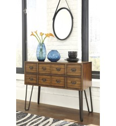 Ashley - Centiar D372 Dining Room Server - Two-tone Brown (D372-60)
