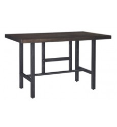 Ashley - Kavara D469 Rectangular Dining Room Counter Table - Medium Brown (D469-13)