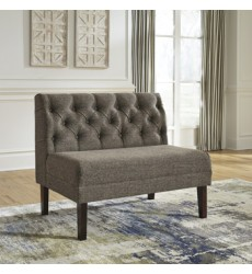 Ashley - Tripton D530 Large Upholstery Dining Room Bench - Medium Brown (D530-08)