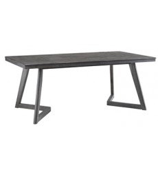 Ashley - Besteneer D568 Rectangular Dining Room Table - Dark Gray (D568-25)