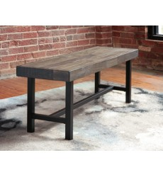 Ashley - Cazentine D579 Dining Room Bench - Grayish Brown (D579-00)
