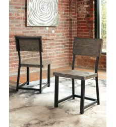Ashley - Cazentine D579 Dining Room Side Chair (2/CN) - Grayish Brown (D579-01)