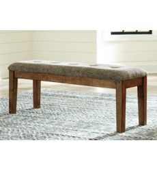 Ashley - Flaybern D595 Large UPH Dining Room Bench - Brown (D595-00)