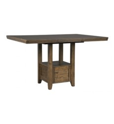 Ashley - Flaybern RECT DRM Counter EXT Table - Brown ( D595-42 )