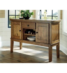 Ashley - Flaybern Dining Room Server - Brown ( D595-60 )