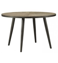Ashley - Coverty D605 Round Dining Room Table - Light Brown (D605-15)