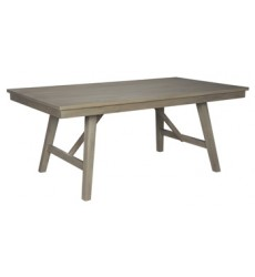 Ashley - Aldwin D617 Rectangular Dining Room Table - Gray (D617-45)