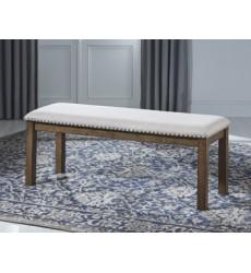 Ashley - Moriville D631 Upholstered Bench - Grayish Brown (D631-00)
