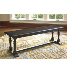 Ashley - Townser D636 Large Dining Room Bench - Grayish Brown (D636-00)