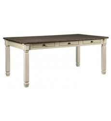 Ashley - Bolanburg D647 Rectangular Dining Room Table - Antique White (D647-25)