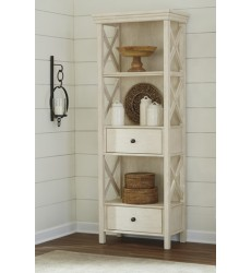 Ashley - Bolanburg Display Cabinet - Antique White ( D647-76 )