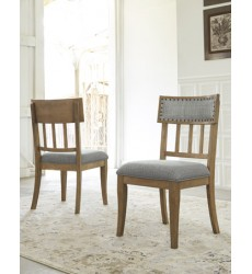 Ashley - Ollesburg D725 Dining UPH Side Chair (2/CN) - Brown (D725-01)