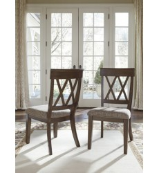 Ashley - Brossling D727 Dining Room Side Chair (2/CN) - Dark Brown (D727-01)