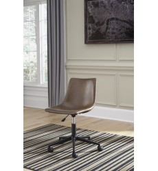 Ashley - Office Chair Program H200 Home Office Swivel Desk Chair - Brown (H200-01)