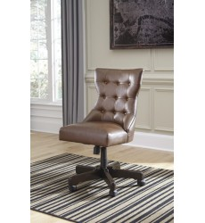 Ashley - Office Chair Program H200 Home Office Swivel Desk Chair - Brown (H200-04)