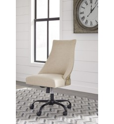 Ashley - Office Chair Program H200 Home Office Swivel Desk Chair - Brown (H200-07)