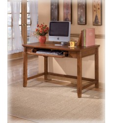 Ashley - Cross Island H319 Home Office Small Leg Desk - Medium Brown (H319-10)
