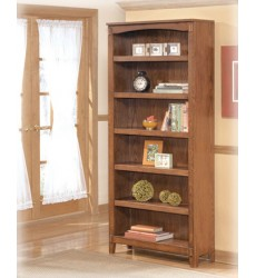 Ashley - Cross Island H319 Large Bookcase - Medium Brown (H319-17)