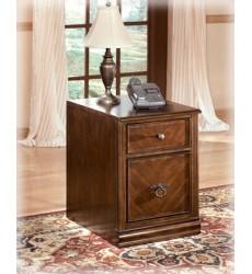 Ashley - Hamlyn H527 File Cabinet - Medium Brown (H527-12)