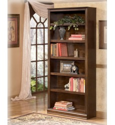 Ashley - Hamlyn H527 Large Bookcase - Medium Brown (H527-17)