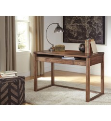 Ashley - Baybrin H587 Home Office Small Desk - Rustic Brown (H587-10)