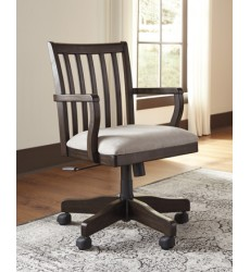 Ashley - Townser H636 Home Office Swivel Desk Chair - Grayish Brown (H636-01A)