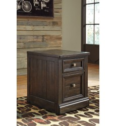 Ashley - Townser H636 File Cabinet - Grayish Brown (H636-12)