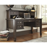 Ashley - Townser H636 Home Office Desk Hutch - Grayish Brown (H636-48)