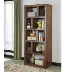 Ashley - Lobink H641 Bookcase - Brown (H641-17)