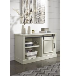 Ashley - Jonileene H642 Home Office Cabinet - White/Gray (H642-40)