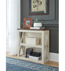 Ashley - Bolanburg H647 Medium Bookcase - Two-tone (H647-16)