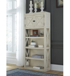 Ashley - Bolanburg H647 Large Bookcase - Two-tone (H647-17)